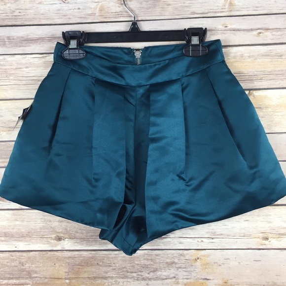 Nasty Gal Pants - Nasty gal Teal Polyester Women's  Skort XXS